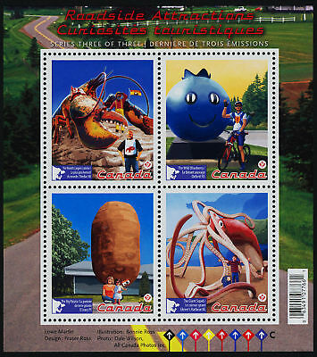 Canada 2484 MNH Roadside Attractions