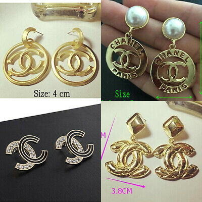 Pretty Fashion lady Jewelry Alloy Crystal Classic Stud Earring Eardrop Gift