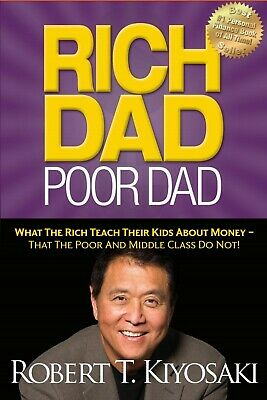 Rich Dad Poor Dad What the Rich Teach Their Kids about Money PDF; kindle b00k ✔️
