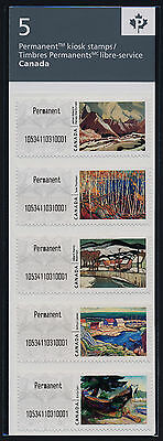 Canada CP19i-23i Kiosk Stamps MNH Art, Landscape Paintings