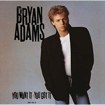 """CD BRYAN ADAMS """"YOU WANT IT,Y"""".New and sealed"""