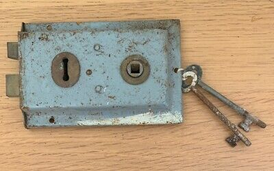 Vintage Reclaimed Lock With Key
