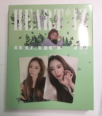 IZ*ONE IZONE HEART*IZ HEARTIZ Album Photocard Set - Nako, Chaeyeon