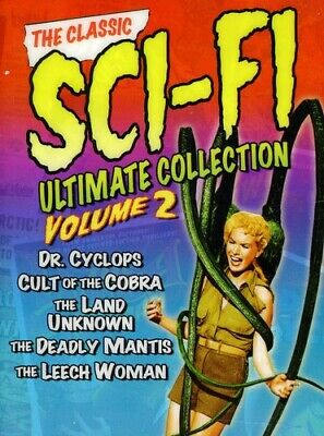 Classic Sci-Fi Ultimate Collection Dvd Set Vol 2 Oop Best Buy Exclusive Sealed