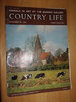 Country Life Magazine ~ 1966 ~ Quite Good Condition ~ Very Interesting ~
