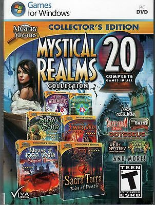 MOUNTAIN TRAP THE MANOR OF MEMORIES Hidden Object 20 PACK VIVA MEDIA PC Game NEW