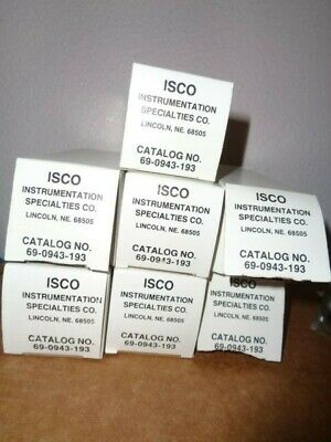 7 ISCO 69-0943-193 Chart Recording Paper for UA-5 -6 Absorbance Monitor Recorder
