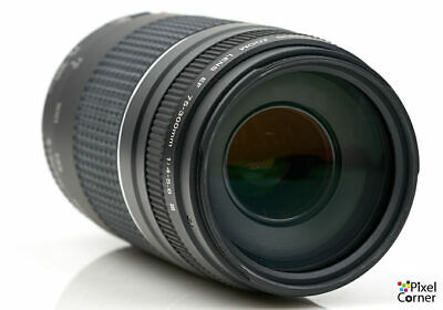 Canon EF 75-300mm f/4-5.6 III telephoto zoom lens 2021117344