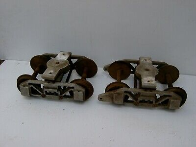 A PAIR OF 5inch LOCO OR TRUCK BOGIES