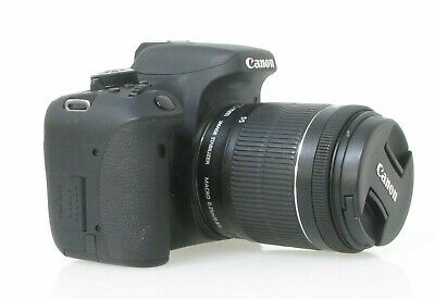 Canon EOS Rebel T6i with 18-55mm Lens - No Reserve