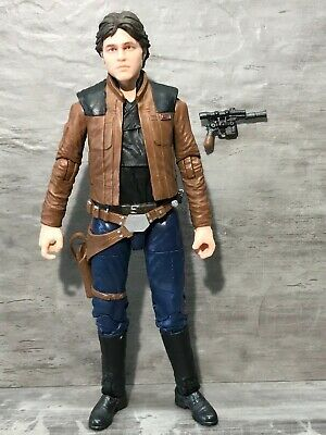 "Star Wars 2018 The Solo Story Black Series 62 Han Solo Action Figure 6"" Scale"