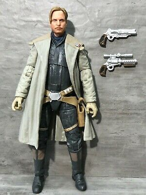"Star Wars 2018 The Solo Story Black Series 68 Tobias Beckett 6"" Action Figure"