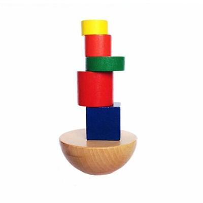 Wooden Balancing Puzzles for Toddlers Kids Baby Preschool Stacking Toy DB