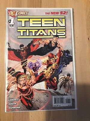 DC Comics The New 52 Teen Titans #1 Great Condition