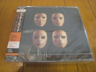 PINK FLOYD The Wall Live 1980-81 Japan 2CDs '00 SEALED w/sticker