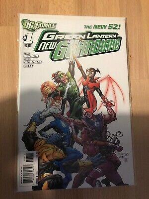 DC Comics The New 52 Green Lantern New Guardians #1 Great Condition