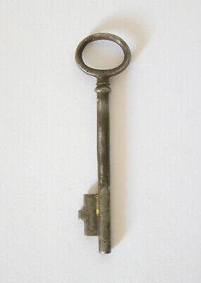 "Antique Vintage 4"" Door Cupboard Key Old Metal Rustic Steampunk"