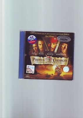 PIRATES OF THE CARIBBEAN - FILM MOVIE VIDEO CD CDi CD-i VCD - FAST POST COMPLETE