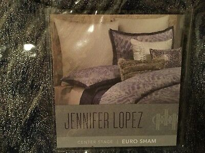 JENNIFER LOPEZ CENTER STAGE 4 PC QUEEN SIZE COMFORTER SET-BRAND NEW w//TAGS