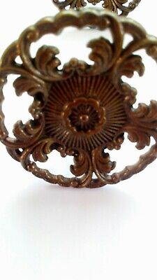 metal drawer handles moulded vintage Re claimed used condition.
