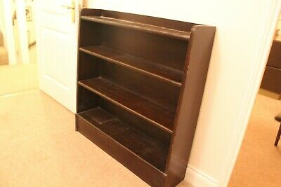 Air Ministry Mahogany Book Case - vintage / retro - one of two
