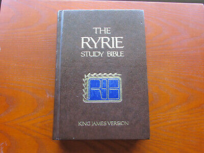 The Ryrie Study Bible New Testament King James Version