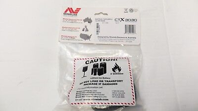 Minelab Li-ion Rechargeable Battery Pack for CTX 3030 Metal Detector inc VAT