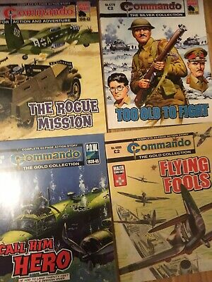 Loads Of Commando Comics 10 For  Only £5