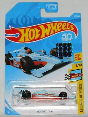 2018 Hot Wheels Rlc Factory Set Legends Of Speed Series Indy 500 Oval