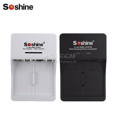 Soshine SC-V1 9V 6F22 Li-ion Ni-MH LiFePO4 Battery Chargers intelligent Rapid