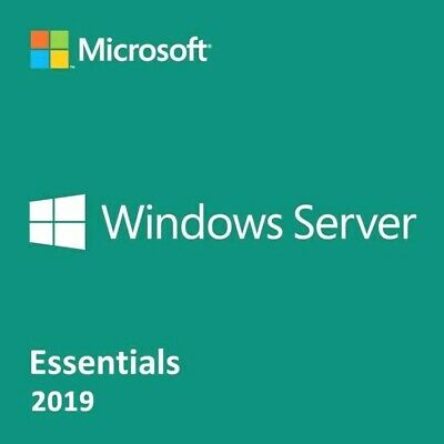 Windows Server 2019 Essentials 64-bit Genuine License Key and Download!!