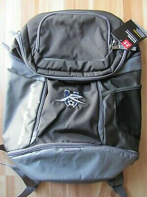 dcd15652fefd Under Armour Storm Striker Backpack Soccer Gray Silver w  Embroidered Logo