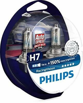 Philips RacingVision 0730253 150% Ampoule Phare H7 12972RVS2, paq(H7, Twin box)