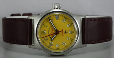 Vintage West End Jawan Winding Swiss Made Wrist Watch R182 Old Used Antique