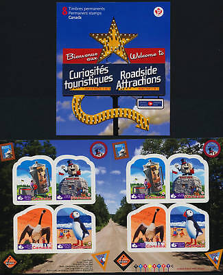Canada 2401a Booklet MNH Roadside Attractions, Birds