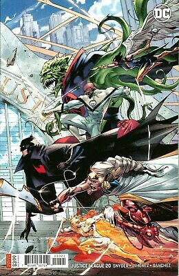 Justice League #20 / Jimenez Right Side Variant / Dc Comics / May 2019 / N/m