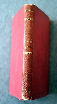 1852 Marco Paul Voyages Travels New York City Jacob Abbott Nyc Manhattan Ira