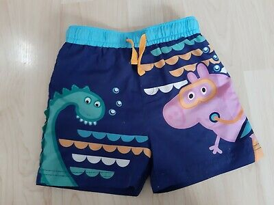 Boys George Pig Swimming Shorts 1.5-2 Years 18-24 Months