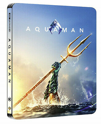 Aquaman 4K - Limited Steelbook Edition (4K UHD+Blu-ray) NEU&OVP!