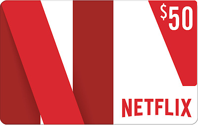 50$ Netflix Gift Card US / 20% OFF! / Fast E-mail DELIVERY / Extrem Cheap!