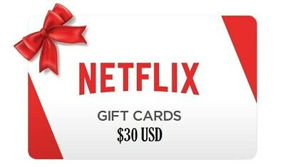 30$ Netflix Gift Cards 🔥🔥 52% Off (USA Only) | Fast Shipping !!! DISCOUNTED!!