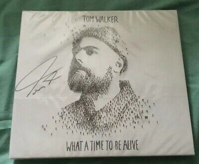 TOM WALKER. SIGNED CD . WHAT A TIME TO BE ALIVE. New And Sealed
