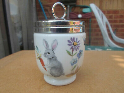 Royal Worcester Egg Coddler Easter 'a Skippety Tale' King Size Double