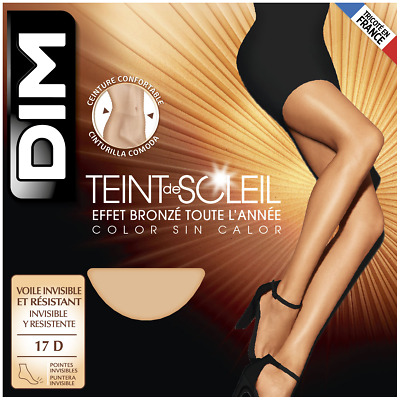 Dim Teint de Soleil 8 Denier STW Tights Pantyhose - X-Large - Beige (Clair)