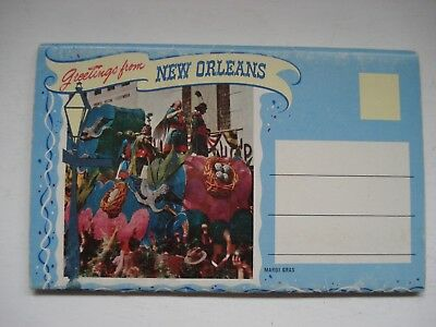 Souvenir Folder Greetings From New Orleans Louisiana Lot Of 12 Photos Vintage