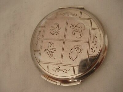 Georg Jensen Compact Sterling Silver London 1948 (I)