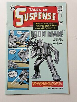 Tales of Suspense 39 signed Stan Lee