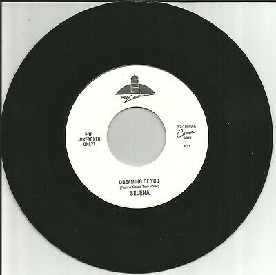 SELENA Dreaming of You / Techno Cumbia LIMITD USA JUKEBOX 7 INCH Vinyl Single 45