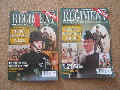 REGIMENT Military Heritage Collection 21 & 22 Royal Green Jackets RGJ 1741-1997