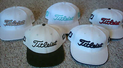Titleist New Era FootJoy Golf Hat - Foot Joy FJ - Fitted Size 7 3/8 Lickliter II